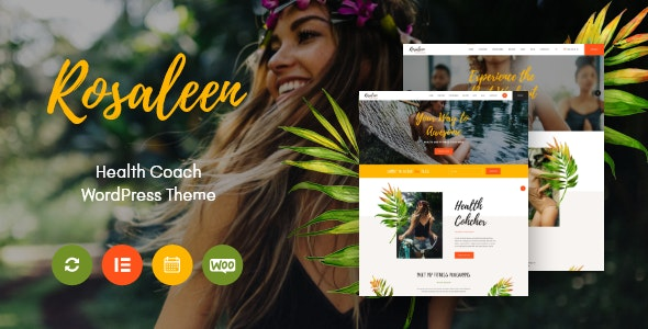 Rosaleen - Health Coach, Speaker & Motivation WordPress Theme - Health & Beauty Retail