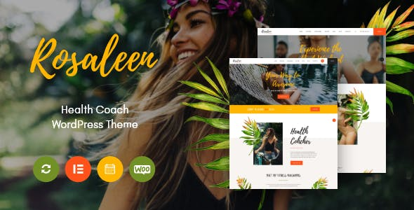 Download Rosaleen - Health Coach, Speaker & Motivation WordPress Theme