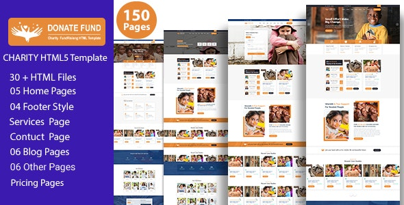 Donate Fund - Charity Nonprofit HTML 5 Template - Charity Nonprofit