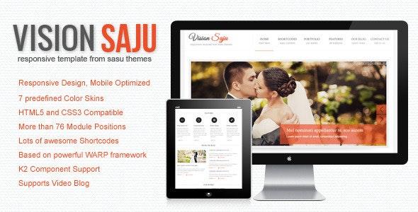 Vision Saju - Responsive Joomla Template - Joomla CMS Themes