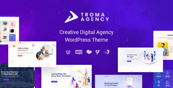 Troma - Digital Agency WordPress - Creative WordPress