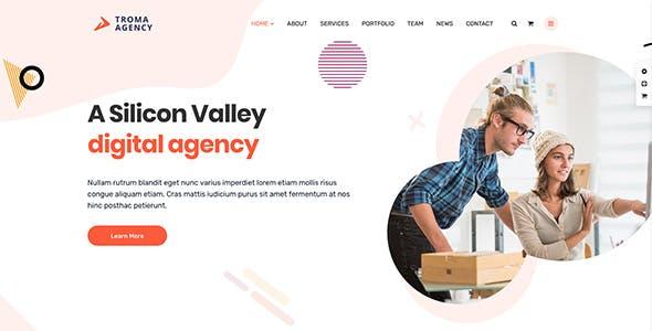Troma - Digital Agency WordPress