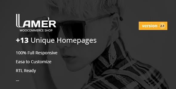 Lamer Fashion - WooCommerce WordPress Theme - WooCommerce eCommerce