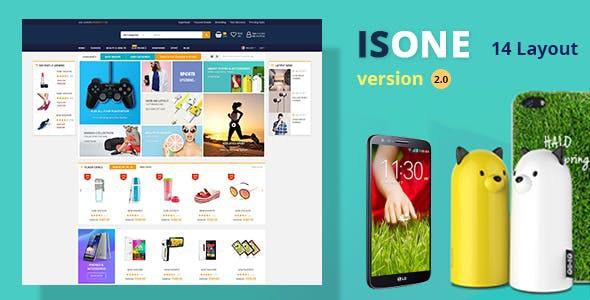 IsOne Store - RTL  WooCommerce WordPress For Digital Theme - WooCommerce eCommerce