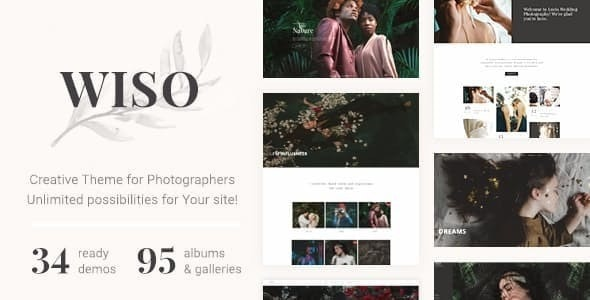 WISO - Photography HTML Template - Photography Creative