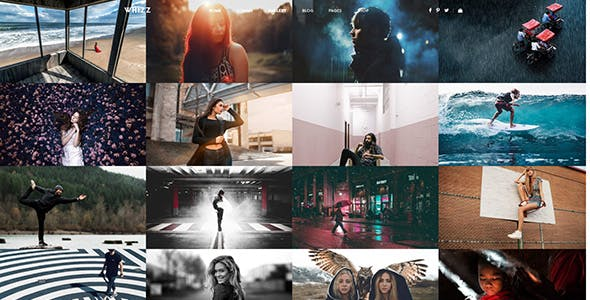 Whizz -  Photography Template