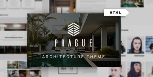 Prague - Architecture HTML Template - Portfolio Creative