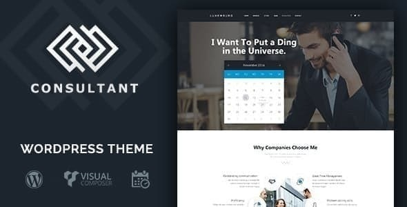 Consultant | WordPress Theme - Business Corporate