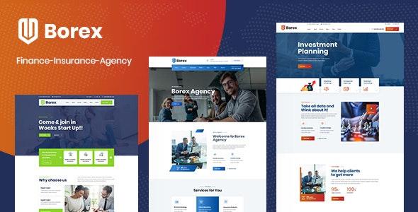 Borex - ReactJS Multipurpose Business Template - Business Corporate