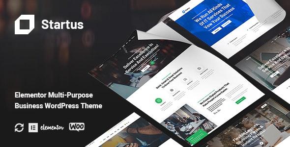 Startus - Multipurpose Business WordPress Theme - Business Corporate