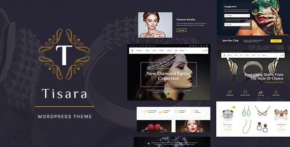 Tisara Jewelry WooCommerce Theme - WooCommerce eCommerce
