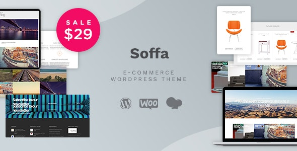 Soffa - Furniture & Business WordPress Theme - WooCommerce eCommerce