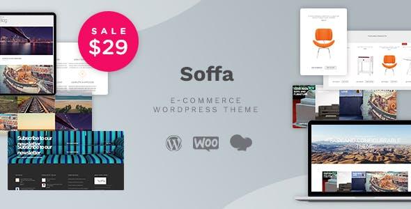 Soffa - Furniture & Business WordPress Theme