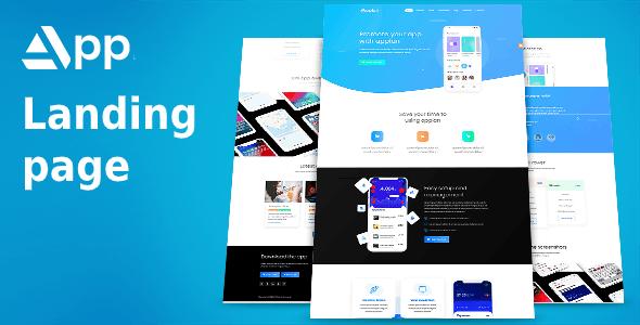 applan - app landing page - Marketing Corporate