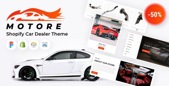 Motore - Shopify Car Dealer Theme, Car Selling, Used Car Parts