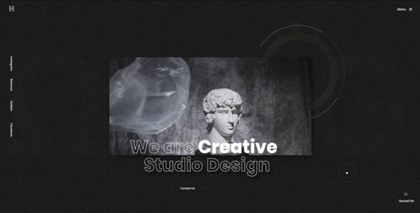 Helion - Creative Portfolio HTML5 Template - Creative Site Templates