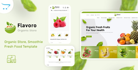 Flavoro - Organic Food OpenCart Store - Shopping OpenCart