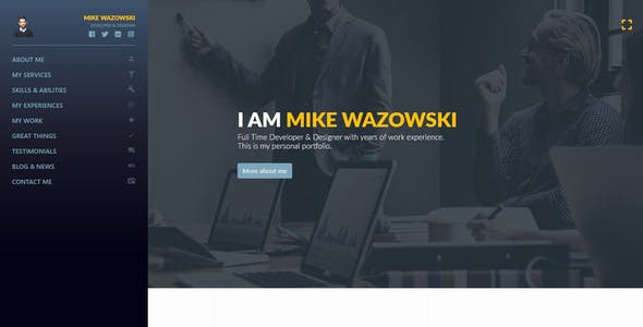 Resumme - HTML Theme for Creative CV