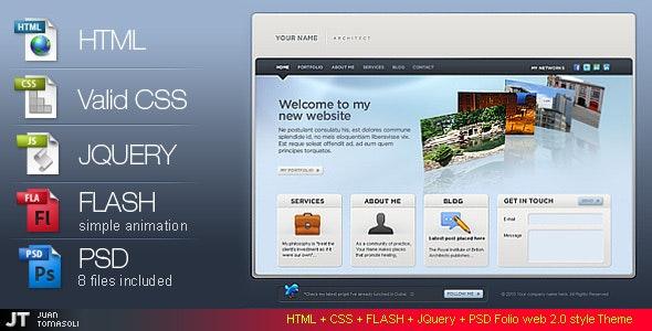 Folio web 2.0 style / HTML VERSION / - Portfolio Creative