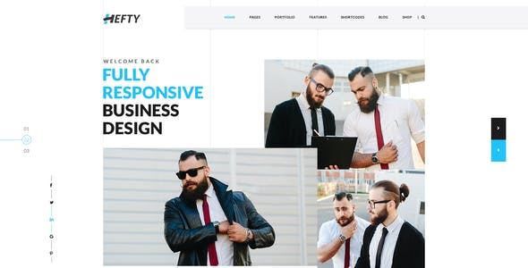 Hefty - The Multipurpose PSD Template
