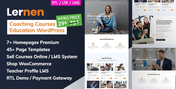 Coaching Online Courses & Education WordPress - Lernen - Education WordPress