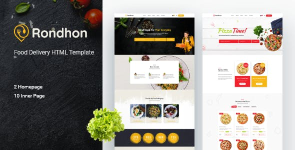 Rondhon - Food Delivery HTML Template