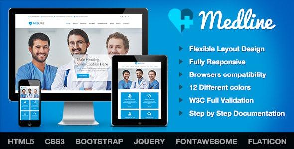 Medline - Medical & Health HTML Template - Health & Beauty Retail