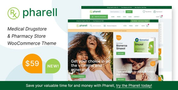 Download Pharell - Medical & Pharmacy Store