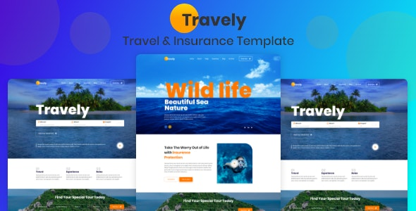 Travely - Tours & Travel Booking Template - Travel Retail