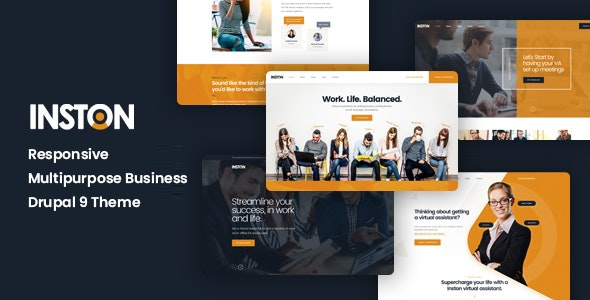 Inston - Responsive Multipurpose Business Drupal 9 Theme - Business Corporate
