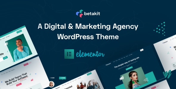 Betakit - Digital & Marketing Agency WordPress Theme