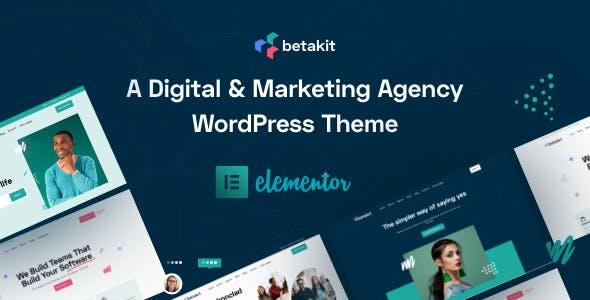 Betakit - Digital & Marketing Agency WordPress Theme
