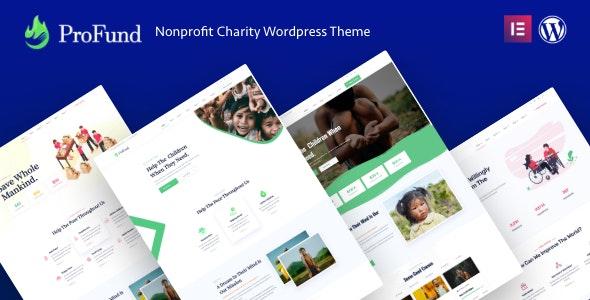Nonprofit ProFund - Charity Theme - Charity Nonprofit