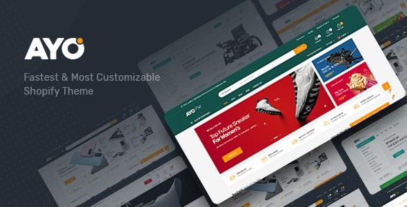 Ayo - Multipurpose Responsive Shopify Theme - Technology Shopify