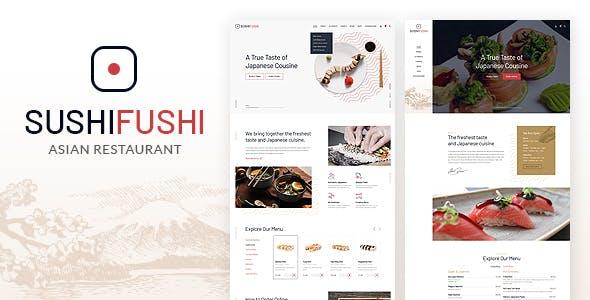 Download SushiFushi - Japanese & Asian Restaurant HTML Template