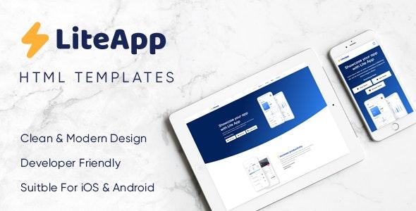 LiteApp - Software & Landing Template - Technology Site Templates