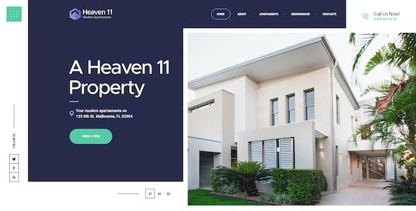 Heaven11 | Property & Apartment Real Estate WordPress Theme