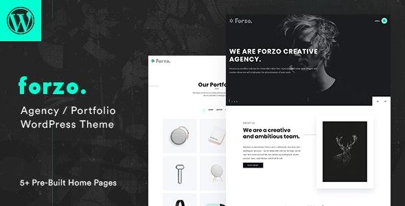 Forzo - Agency Portfolio WordPress Theme - Portfolio Creative