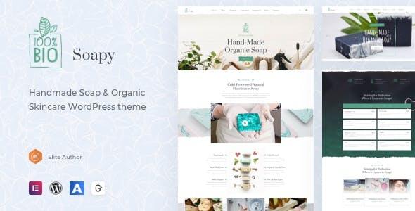 Soapy - Handmade & Organic Skincare WordPress