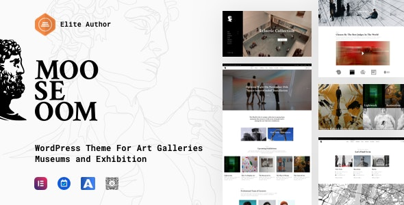 Mooseoom - Art Gallery, Museum & Exhibition WordPress - Art Creative