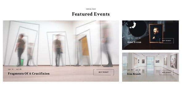 Mooseoom - Art Gallery, Museum & Exhibition WordPress