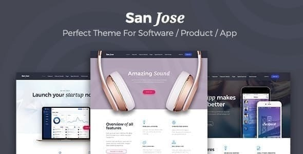 SanJose - Landing Page - Software Technology
