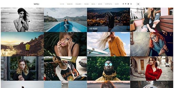 Napoli Photography WordPress
