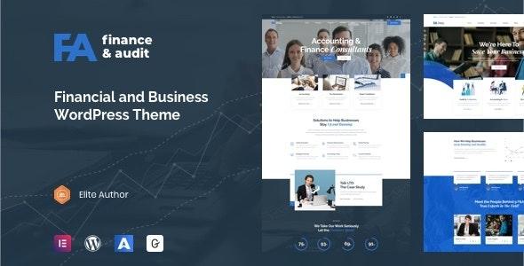 Famulus - Finance WordPress - Business Corporate