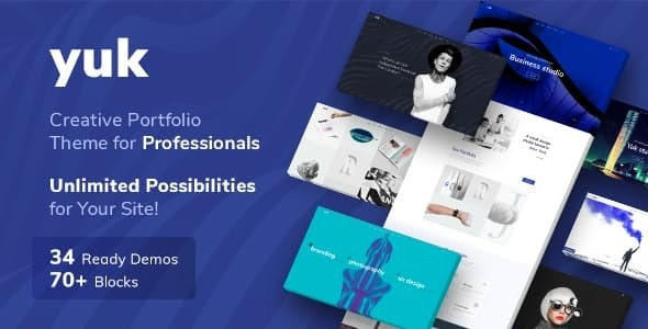 YUK - Portfolio WordPress - Portfolio Creative