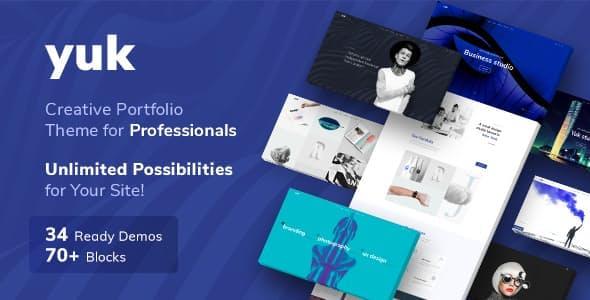 YUK - Portfolio WordPress