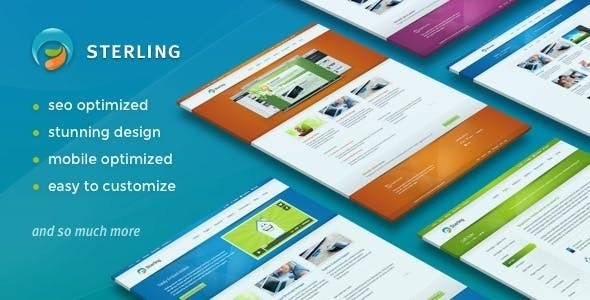 Sterling - Responsive Wordpress - Business Corporate