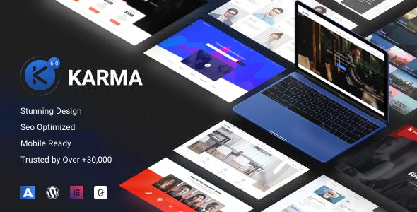 Karma - Elementor Business - Business Corporate