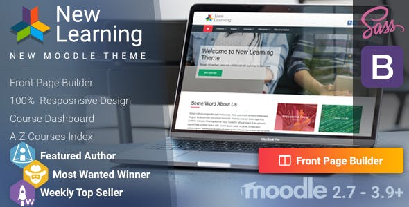 Download New Learning   Premium Moodle Theme