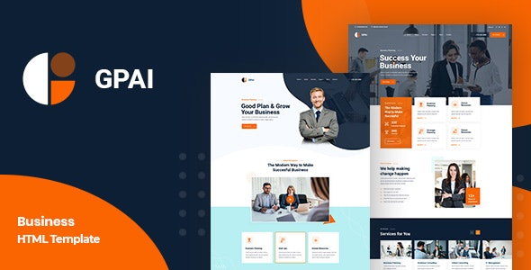 Gpai - Multipurpose Business HTML5 Template - Business Corporate